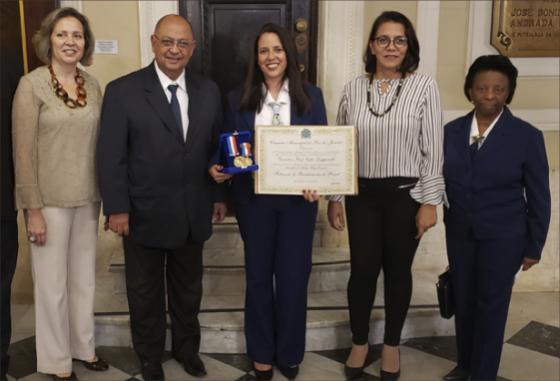 Movimento Bandeirante Rio de Janeiro recebe Medalha Pedro Ernesto